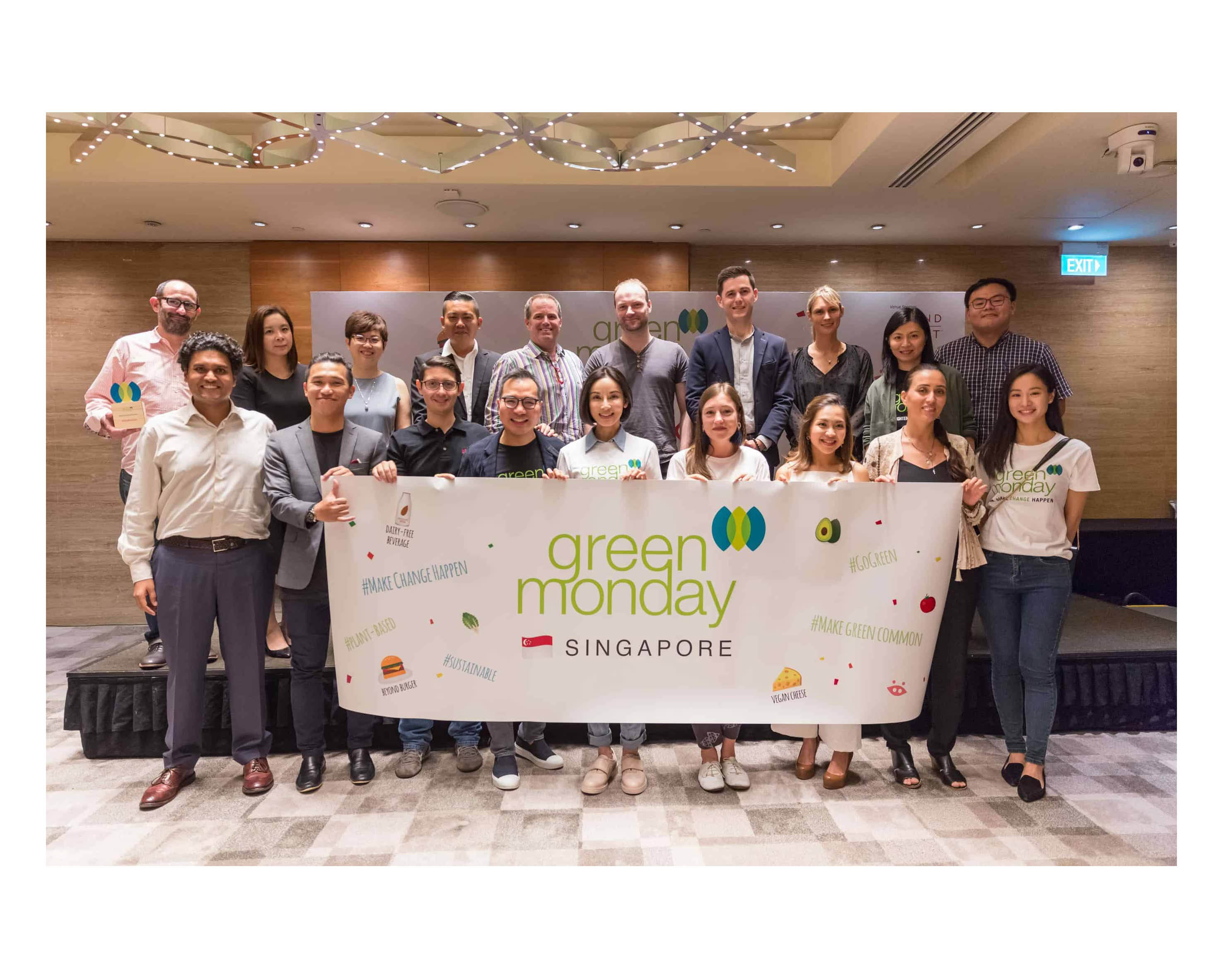 Green Monday Arrives in Singapore & Why Join The Plant-Based Movement