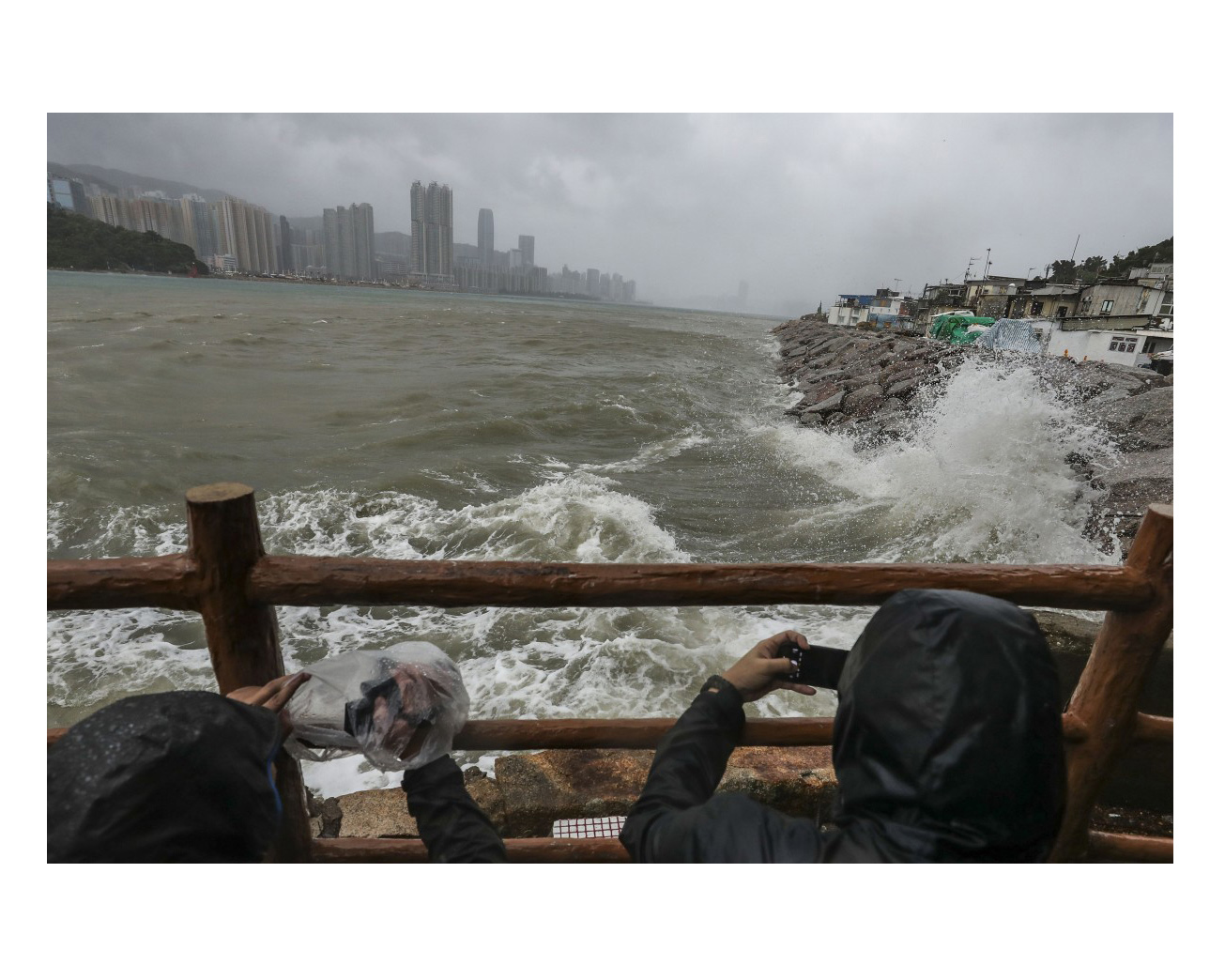 New storm defences for Hong Kong after experience of Typhoon Mangkhut – and as climate change threatens even worse