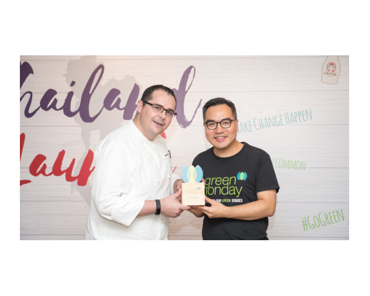 Green Monday Initiative Launches in Thailand Endorsed by Michelin Chef Markus Zuck