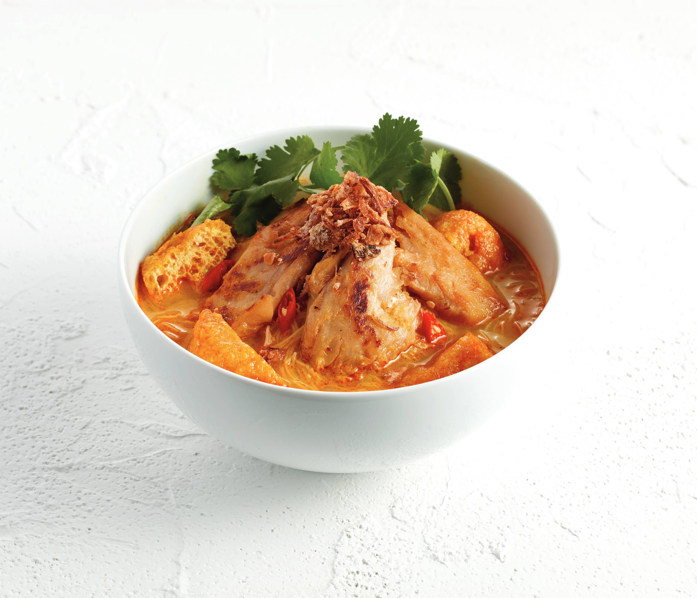 Laksa soup-flavored vermicelli
