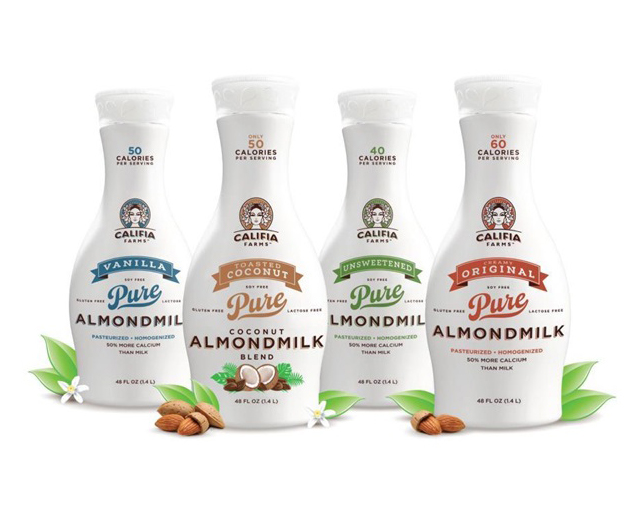 Plant-Based Milk & Yogurt Company Califia Farms Secures US$225M In Funding