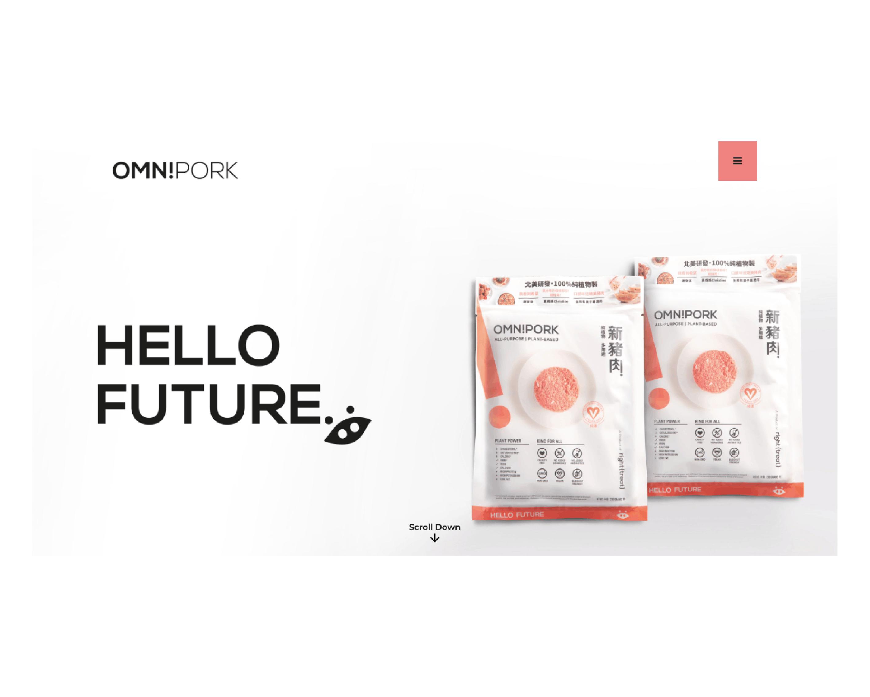 OmniPorkが中国全土で植物性ポークを販売開始する